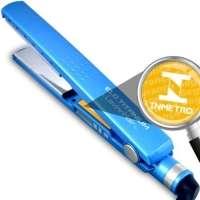 Chapinha de Cabelo Profissional LavinnHair 1 1/4 Elo Titanium 450ºf Azul