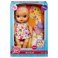 Boneca Baby Alive Hasbro Hora do Xixi Morena