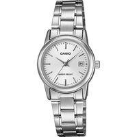 106c94127d7 Relógio Casio LTPV002D7AUDF Analógico Prata