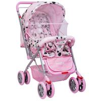 Carrinho de Bebê Reversível Styll Baby Amabile com Bolsa Dream Baby Rosa