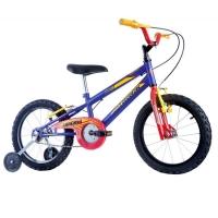 Bicicleta Infantil Track Bikes Track Boy Aro 16 Masculina Azul Fosco