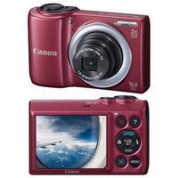 Câmera Digital Canon PowerShot A810 16MP Vermelha