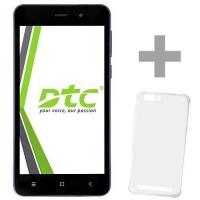 Smartphone DTC Oreo Grand S30 Desbloqueado Dual Chip 8GB Android 8.1 Azul + Capa