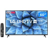Smart TV LED 60 UHD 4K LG 60UN7310PSA com Wi-Fi Bluetooth