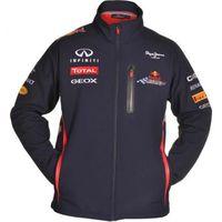 Jaqueta Red Bull Racing F1 Red Bull Oficial Equipe Softshel Masculina Azul b606b973f3e0d