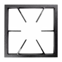 Grelha Ferro Fundido 30x30cm P/ Fogão Industrial