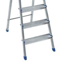 Escada Mor 5102 4 Degraus Alumínio