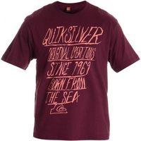 Camiseta Quiksilver Quiver Masculina Vermelha  6a81bfc28856