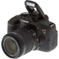 Câmera Digital Canon EOS T6i EF-S Premium + Lente 18-55mm + Cartão SD 16GB + Bolsa