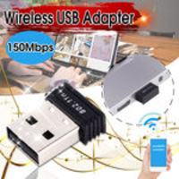 Dongle Sem Fio 150mbps Do Adaptador 802.11n Wifi Do Mini Usb N Com Realtek Rtl