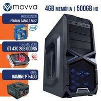 Computador Gamer Mvxp Intel Pentium G4560 3.5ghz 7ª Ger 4GB 500GB Linux