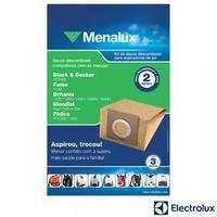 Saco para Aspirador de Pó Menalux SIM01 Electrolux 3 Unidades