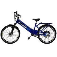 Bicicleta Elétrica Machine Motors 800W 48V Azul