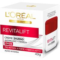 Creme de Tratamento L'Oréal Paris Revitalift Diurno FPS 18 Dermo Expertise 49g