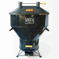 Churrasqueira a Carvão Apolo 10 Esmaltada Preta