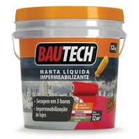BAUTECH MANTA LIQUIDA CINZA 12 KG 784850 Bautech
