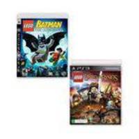 Jogo LEGO Batman: The Videogame + Jogo LEGO O Senhor dos Aneis PlayStation 3 Sony