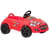 Carro Bandeirante Roadster A Pedal Volante C Buzina Rodas Plásticas 418
