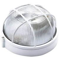 Luminária Tartaruga Redonda Alumínio Branca Startec 100210000