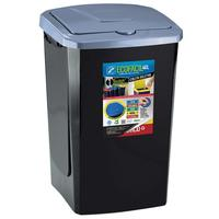 Lixeira com Tampa Arthi Eco Fácil 40 Litros