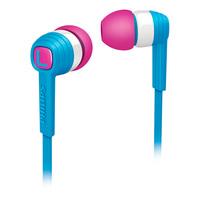 Fone de Ouvido Philips SHE7050BL Azul Branco e Rosa