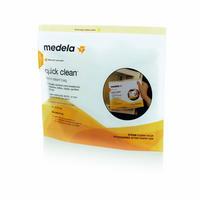 Bolsa de Leite para Microondas Medela Quick Crean 80041 Transparente 5 Unidades