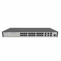 Switch Intelbras Gerenciável 24 portas Fast Ethernet + 4 portas Gigabit com 2 Mini-GBIC SF 2842 MR