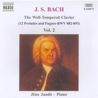 The Well Tempered Clavier Vol.2