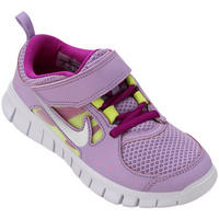 1ab8c3f8216 Tênis Nike Free Run 3 GPV Infantil Roxo e Lilás