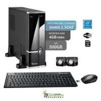 Computador 3green Triumph Business Desktop Dual Core G4400 3.30Ghz 4GB 500GB Wifi Windows 10
