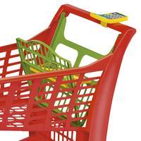 Carrinho Infantil para Supermercado Vermelho 872 Magic Toys