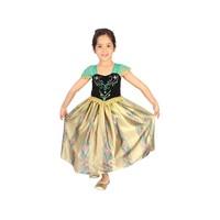 Fantasia Rubie´s Anna Baile Luxo Frozen Disney M