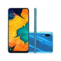 Smartphone Samsung Galaxy A30 SM-A305GT/6DL Desbloqueado 64GB Dual Chip Android 9.0 Azul