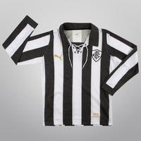 Camiseta Puma Botafogo Retrô 1910 Masculina Preta e Branca  53a6c8b07f315