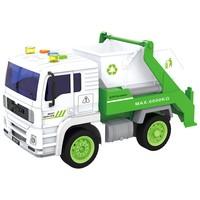 Caminhão de Entulho de Fricção Shiny Toys 520B Branco e Verde