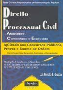 Direito Processual Civil - Série Cursos Preparatórios de Memorização Rápida