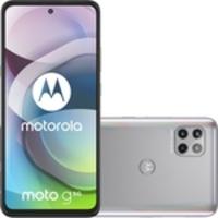 Smartphone Moto G 5G 128GB Dual Chip Android 10 Tela 6.7 Qualcomm Snapdragon 750 Câmera tripla 48MP + 8MP + 2MP Frontal 16MP - Prata Prisma