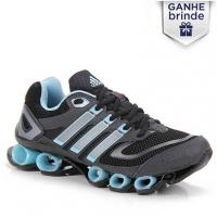 Tênis Running Feminino Adidas Proximus Fb W Preto e Azul Tamanho 36 ... 5bb3405987c20