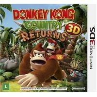 Jogo Donkey Kong:Country Returns 3D 3DS