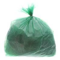 Saco para Lixo com Capacidade de 100 Litros Verde com 100 Unidades Itaquiti
