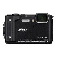 Câmera Nikon Coolpix W300 4K 16MP Wi-Fi Preto