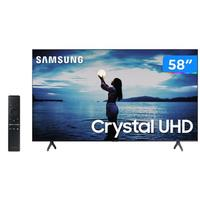 Smart TV 4K Crystal UHD 58 Samsung UN58TU7020GXZD - Wi-Fi Bluetooth HD