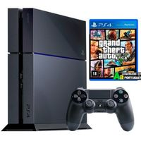 PlayStation 4 500GB Sony + Jogo Grand Theft Auto V GTA 5