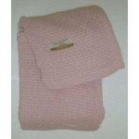 Cobertor De Algodão Premium Ninho 90x110cm Rosa - Jolitex