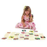 Jogo Da Memória Grandão Rainbow Ruby Toyster