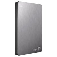 HD Externo Seagate Backup Plus Slim Portatil 1TB STDR1000101 Prata