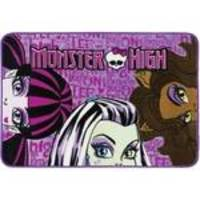 Tapete Oriental Mattel Para Sempre Monster High 80x120cm Lilás Jolitex