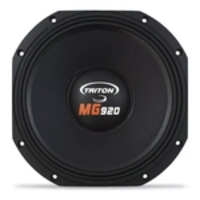 WOOFER TRITON 12 MG 920rms 8 ohms