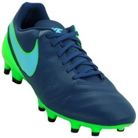 bdff3d6b04 Chuteira Nike Tiempo Genio Ii Leather Fg Verde