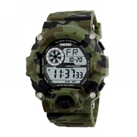 Relógio Masculino Skmei Digital 1019 Verde Camuflado